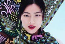 hankies and scarves / by Pamela Farmer