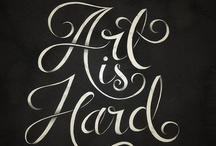 type / Typography / by Bruce Flyinghorse