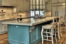 Kitchen Ideas / Ideas for our new kitchen and current one as well. / by Toni Gregory