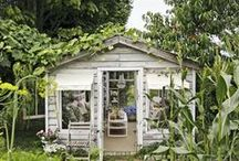 Garden Sheds, Green Houses and Follies / by Brooke Giannetti