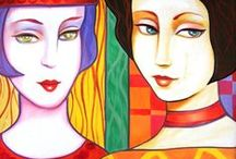 """♥♥Art♥♥ / """"Art is the lie that enables us to know the truth."""" Pablo Picasso / by Huguenise Paes"""