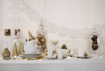 Splendour / Make your home magical this Christmas with traditional red and gold grandeur. Introducing our Splendour Winter Home Collection... / by M&S