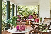 Porches, Patios and Sunrooms / Porches and patios / by Holly Mitchell