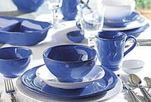 Solid Color Dinnerware from la Terrine / Add some color to your table with modern and elegant dinnerware styles, handmade from artisans across the globe including France and Italy. Available at  www.laterrinedirect.com / by la Terrine