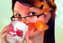 Art: Illustration / by Floating Lemons
