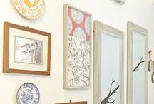 Dress the Walls / Ideas and arrangements for decorating walls. / by Krysta Newman
