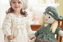 Knit Wit & Hookers 4 babes & tots / clothes, coats, hats and more for newborn to children / by Terry McCarthy