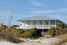 beach houses / by Kathryn M Ireland