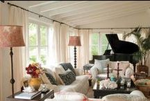 family room / by Kathryn M Ireland