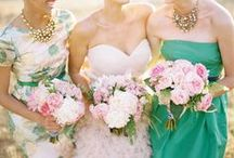 Bridesmaids Dress Inspiration / Ideas for the bridesmaids dresses / by Corinne