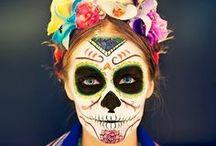 # ARTE CATRINAS Y CATRINES / Disfraces, artesanias y dibujos de Catrinas / by Imagina Tu Sitio WEB Aguascalientes