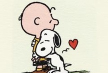 Charlie Brown & Snoopy / by Connie Foster