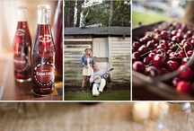 Country Cherry Summer Wedding Inspiration / by Cloud Nine Events & Accessories