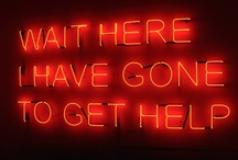 neon / words / by Paul McNeil
