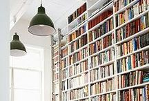 Libraries, books and bookshelves / by realestate.com.au
