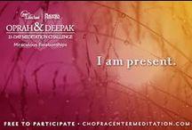 21 Day Meditation Challenge / by Chopra Center Marketplace
