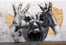 Street art / Photos I have taken of various graffitis near where I live and elsewhere... or found on the Internet (in particular on Street Art Utopia, check them out!) / by Secret Paths