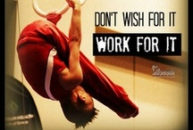 Work & Wed Design Graphics / Gymnastics / by Casey Rotary