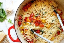 Vegetarian pasta dishes / by Ashley Hilliard