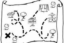 classroom - maps / by Sonya Vittiglio