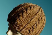 knit hats (cabled) / by Tatyana Boynetskiy