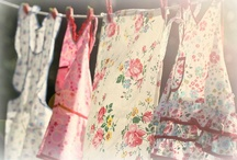 Aprons make me happy / Any housework is better with an apron on! Plus they look so pretty. / by Alexa McCabe