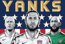 World Cup Fever / Fútbol is one of the world's greatest sports, and we are standing by our boys as the take on the rest of the world. As a soccer girl myself, this is one of my favorite times of the years <3 #USMNT  / by Carolyn Williams