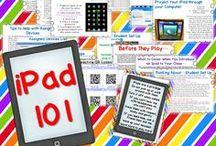 "my ""i""ddiction to iPads / by Mary Amoson"