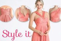 Style It! / Wrap it and wear it in infinite styles - Henkaa provides you with endless possibilities! / by Henkaa