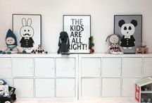 organize KID'S ROOMS & KID'S / PLAYROOMS & NURSERIES | Home Organization & Storage Ideas For Children's Spaces I Love! / by AmyeToTheRescue! Professional Organizer