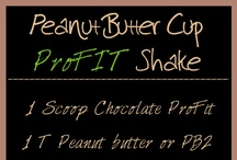 Protein Shake Recipes with It Works ProFIT / Protein Shake Recipes with It Works Ultimate ProFit. Looking for some delish protein shake recipes...well, look no more!  / by Dan Howard