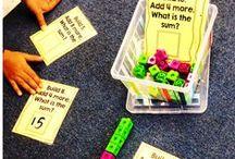 Kindergarten Math Centers / by Rachel Carter