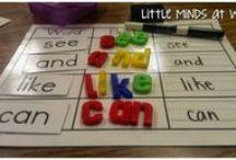 Kindergarten Literacy Centers, Daily 5 / by Rachel Carter