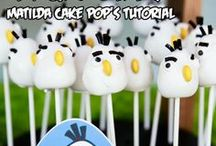 Cakes - cakepops / so much work but so so SO cute, these cakepops are absolutely amazing, I don't want to make hundreds of these, but a few are totally perfect for a party table / by Ashlee Marie