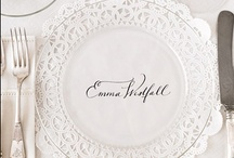 Parties - placecards and holders / parties with placecards are rare for me, but every once in a while it's fun to add to even a simple family meal.  I love these fun ideas / by Ashlee Marie