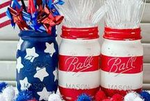 Patriotic Crafts / Find our most spirited DIY ideas including memorial day crafts, labor day crafts, Fourth of July crafts, and even more patriotic DIY ideas. / by AllFreeHolidayCrafts