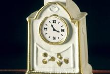 Miniature clocks / by Dolls House Emporium
