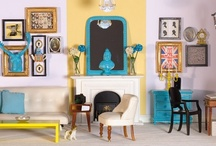 Modern-eclectic style  / by Dolls House Emporium