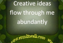 Positve Affirmations / Positive Affirmation Cards  / by Carmen Davis-Stevens