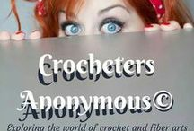 Crocheters Anonymous© / Follow board & msg me request to join. Pin your own crochet, knitting, and other yarn-related works and finds here (one pin per product) and have fun!  ~ Pamela / by Crocheters Anonymous©