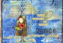 My Art Journaling / art and art journaling  / by Jen Shults