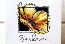 Clean and Simple Cards / Clean and Simple handmade card inspiration / by Jen Shults