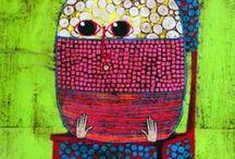 gustavo oritz / 100 ways that I see myself - the art of gustavo oritz / by Finkiyaya