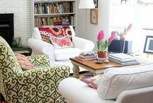 Living room / Beautiful living rooms in which to relax. / by A Thrifty Mrs
