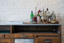 The Bar / Create a bar at home / by A Thrifty Mrs