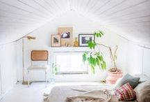 Attic / Make good use of that attic space above your head. / by A Thrifty Mrs