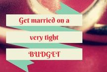 Thrifty Weddings / A wedding is one day, marriage is forever. Don't spend a fortune. / by A Thrifty Mrs