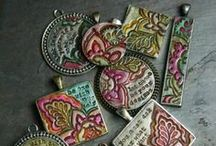 Clay / Items of clay inspiration for my new button collections / by Audrey Kerchner Studios
