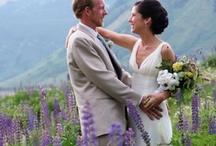 Real Brides / Real Brides wearing Alisa Benay gowns and accessories / by Alisa Benay