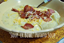 Soup's On! / Soup recipes #soup #recipes #dinner #lunch / by Carrie Rudy
